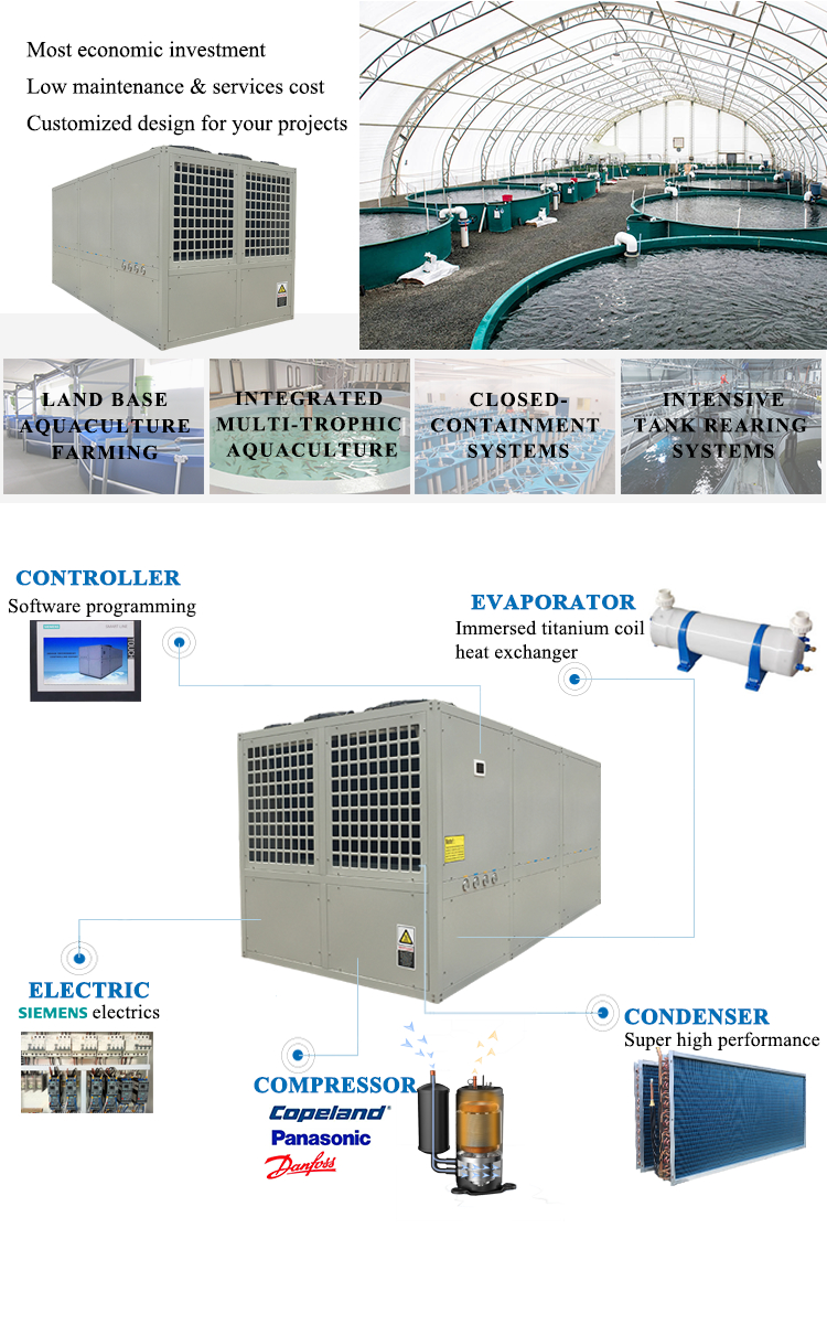 Altaqua salmon fish farming aquaculture chiller