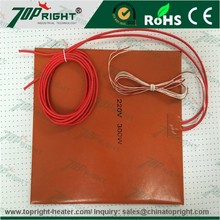 New Arrival Silicone Electric heater silicone rubber flexible hot plate for mobile phone lcd touch repair Manufacturer