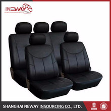 black leather car seat covers for cars
