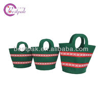 2013 new design cheap small foldable felt shopping bags