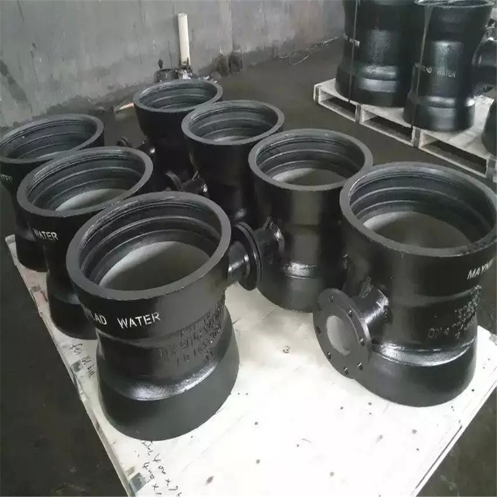DAT Group ISO 2531 EN545 ductile iron pipe fittings