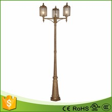 MANUFACTURER DIRECTLY SUPPLY OUTDOOR LED GARDEN OUTSIDE POLE LIGHTS