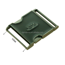 Bags hardware promotional quick side release metal buckles