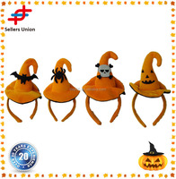 OEM Factory Halloween pumpkin hairband pumpkin hat design headband