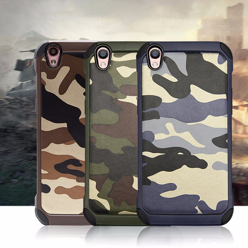 camouflage armor shockproof phone case