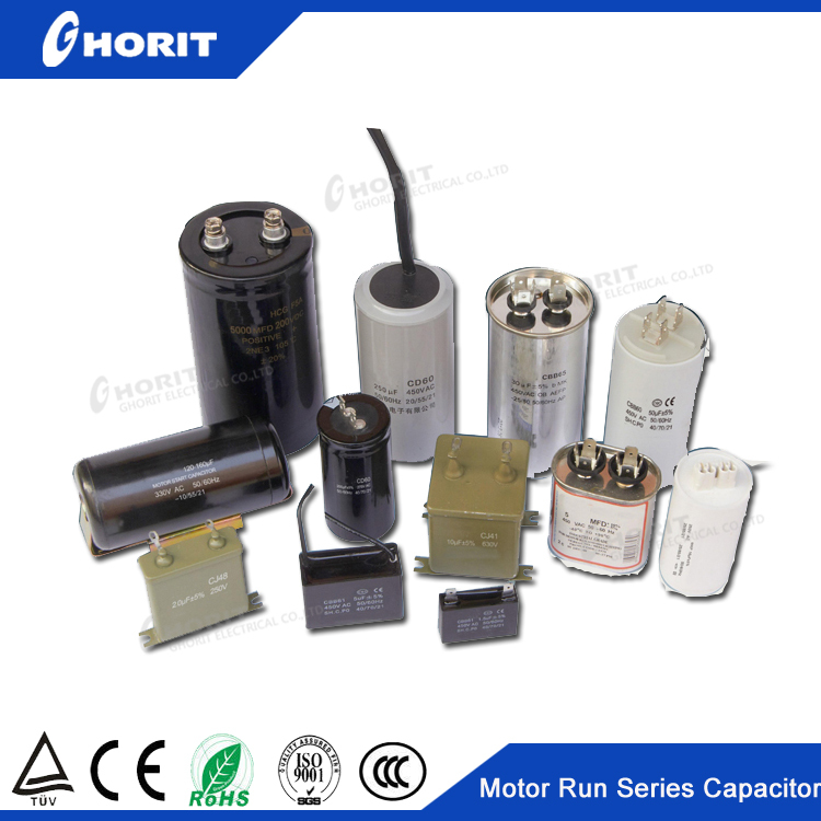 TUV,UL,CQC,CE CBB60 CBB61 CBB65 CBB80 CD60 electrolytic ac starting motor run capacitor 250v 125uf ceiling super capacitor