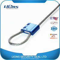 Good reputation aluminium cable seal lock for containers LS-340
