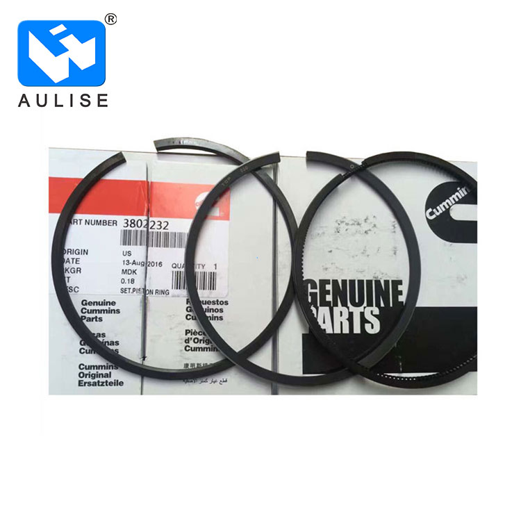 3802230 types of piston rings dongfeng engine truck parts