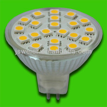 MR16 21 SMD 5050 Warm White Led Lamp