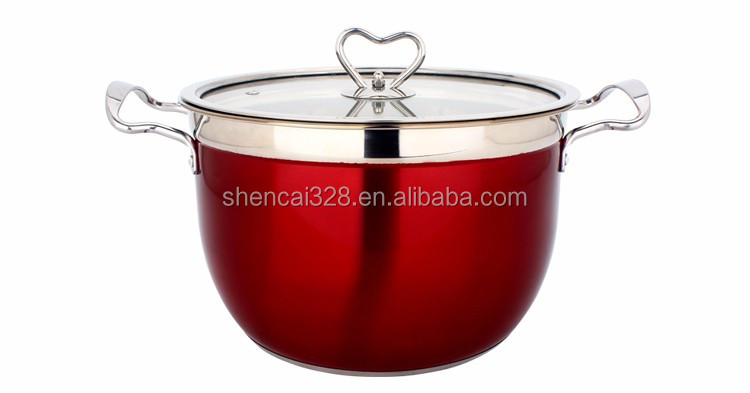 multiple size cookware cooking pot stock pot