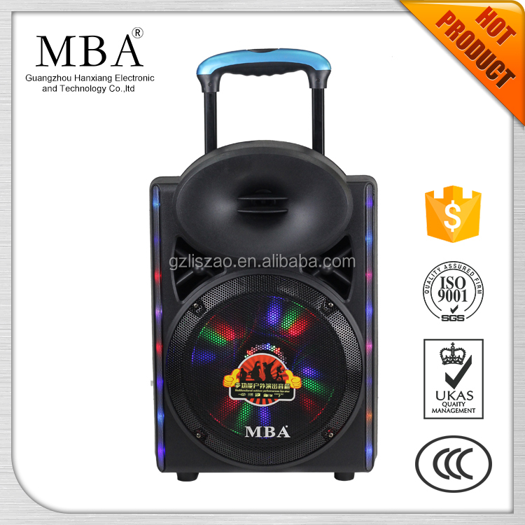 Manual super bass multimedia portable speaker with bluetooth