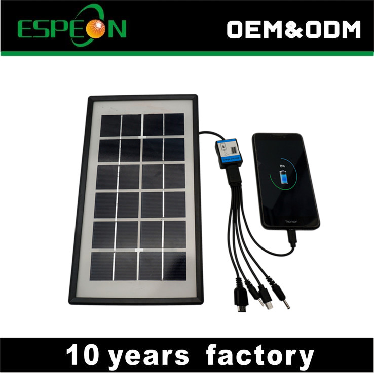 3W 500mA solar panel small size for Mobile phone charging