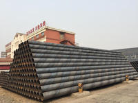 ASTM A252 SSAW Spiral Welded Carbon Steel Pipe with Youfa brand in China