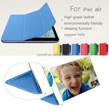 New Smart Cover For iPad mini PU Leather Premium Magnetic Smart Cover+Hard Back Case For iPad Mini 1 2 Retina Display Case