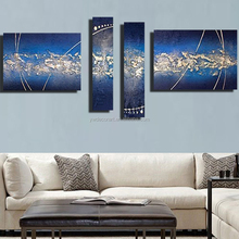 Chinese 3D Abstract Oil Painting On Canvas Framed