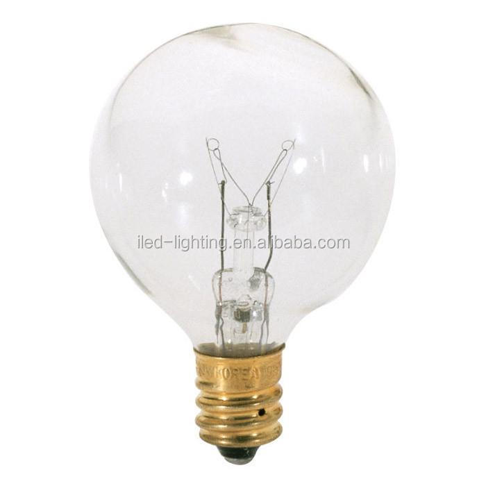 E27 E26 B22 base Filament Light Glass global G50 Bulb 110V 220V 240V 2W 4W 6W 8W for string lights