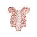 Baby Girl Short Sleeve Floral Romper Fashion One Piece Summer Jumpsuit Hot Selling Cute Baby Romper