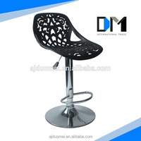 Hollowed Design plastic bottom for chairs and bar stools/modern dining chair