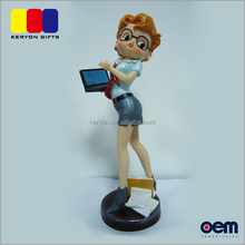 Custom Made Office Sexy Female Woman Figurine Figure Resin Girl Craft
