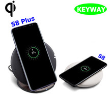 New Arrival 2017 Genuine Type-C Qi Wireless Charger Fast Charging Convertible PAD & Stand For Samsung Galaxy S8 / S8 Plus