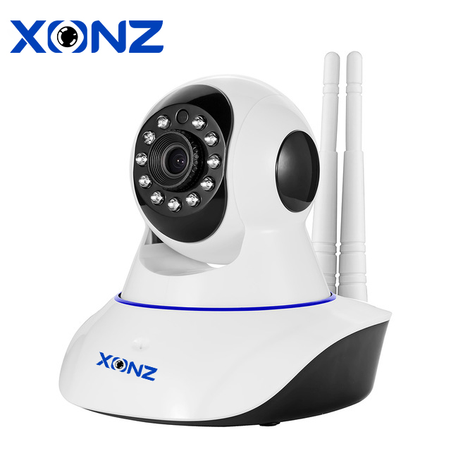 Home surveillance H.264 infrared pan tilt p2p 1mp 720p ip cameras hd security mini all in one network camera