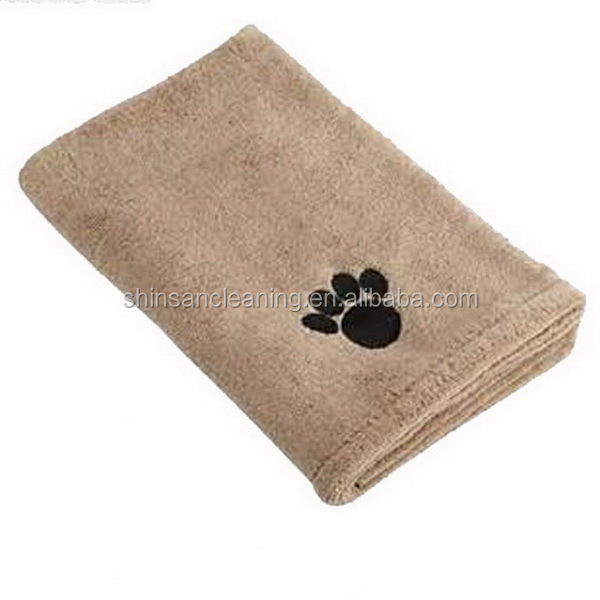 Superior Microfiber towels for dog pet product/microfiber bath towel for dog/microfiber bath for dog towel