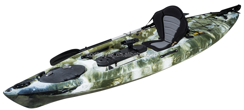 No inflatable cheap plastic fishing racing kayak for for Cheap fishing kayaks