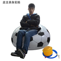 NEW COMING 2014 WORLDCUP Eco-friendly Plastic PVC Thickened Material Football Inflatable Sofa