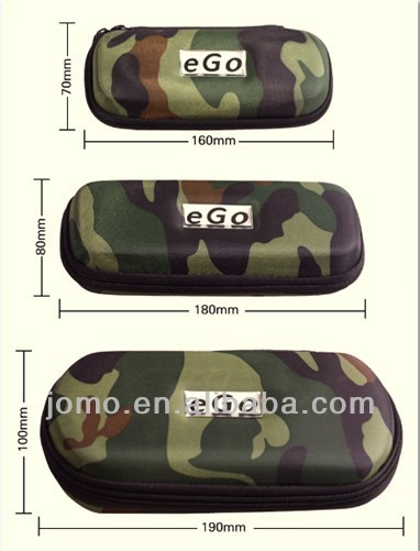 2014 OEM logo army Ego Case ,ego ce4 zipper case, ego bag for e cigarette
