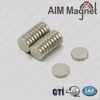 Strong mini N48 neodymium magnets for motors