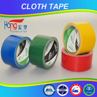 custom color not easy to tear cloth packing tape