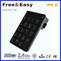 High quality tablet keyboard case only 19key