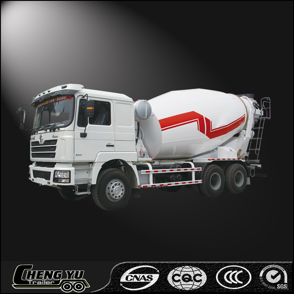 Top quality concrete/cement transport 8-12 CBM concrete mixer truck