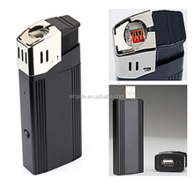 1920x1080P HD 1080P V18 real lighter camera Mini DV hidden camera lighter with flash light