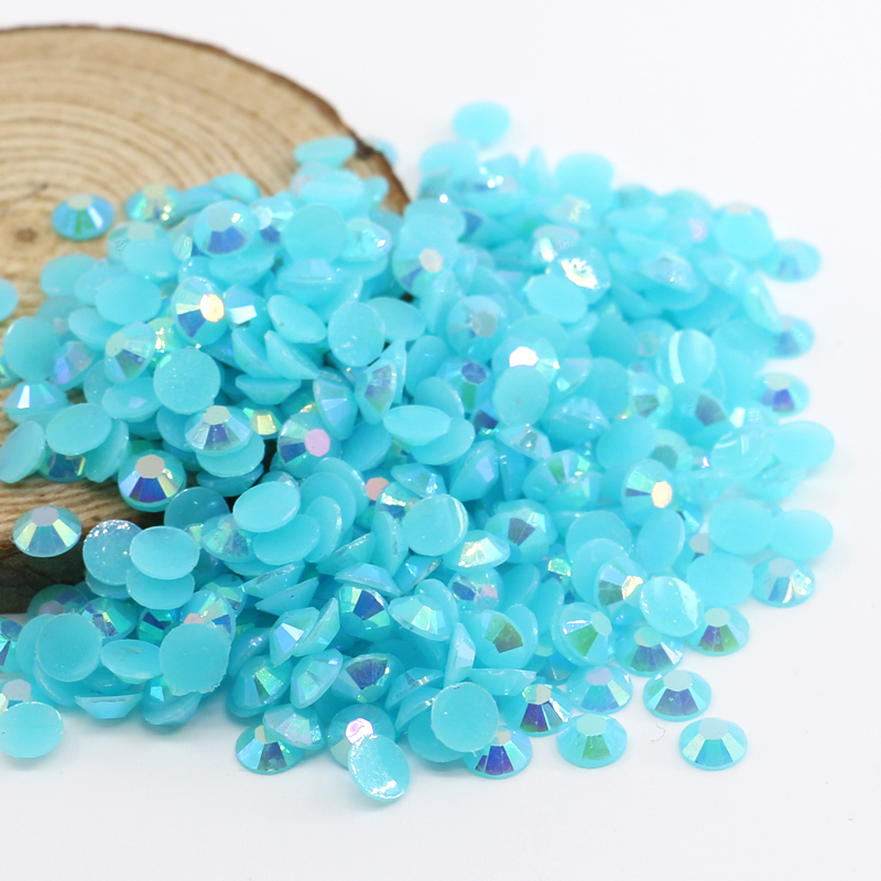 XULIN Best Price Flat Back Resin Rhinestone Beads Nail Resin Rhinestones for Wedding Dresses