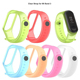 Smart Watch Strap Replacement Soft Silicone Transparent Wristband Wrist Straps for Xiaomi Mi Band 3