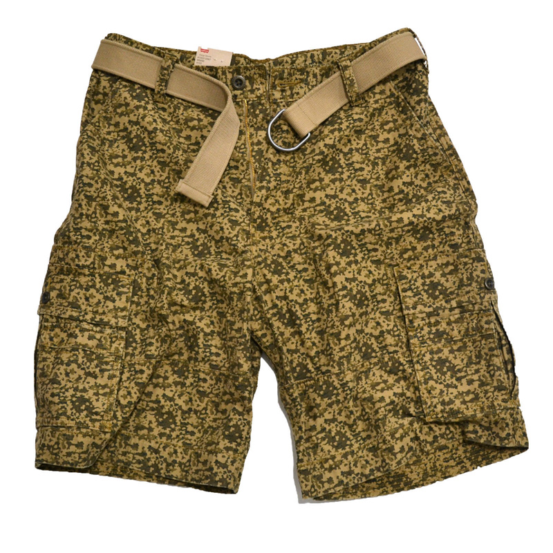 Wholesale camo cotton sport army shorts hot pants mens cargo hiking pants shorts with belt