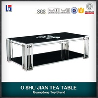 Modern short leg coffee table