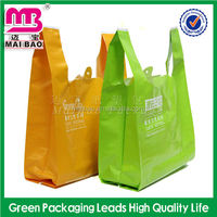 Oxo Biodegradable vest carrier bags heavy duty fruit carry bag t- shirt bag