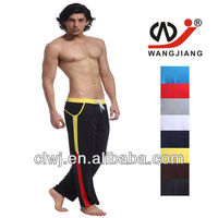 Wangjiang wholesale leisure nylon black latex riding pants