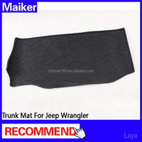 Trunk Mat 2 doors for jeep wrangler interior accessories car trunk mat