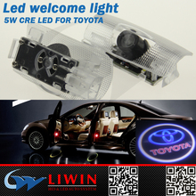 Alibaba wholesale led car door logo laser projector light for toyota crown car
