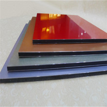 latest designs aluminium acp panel building finishing materials