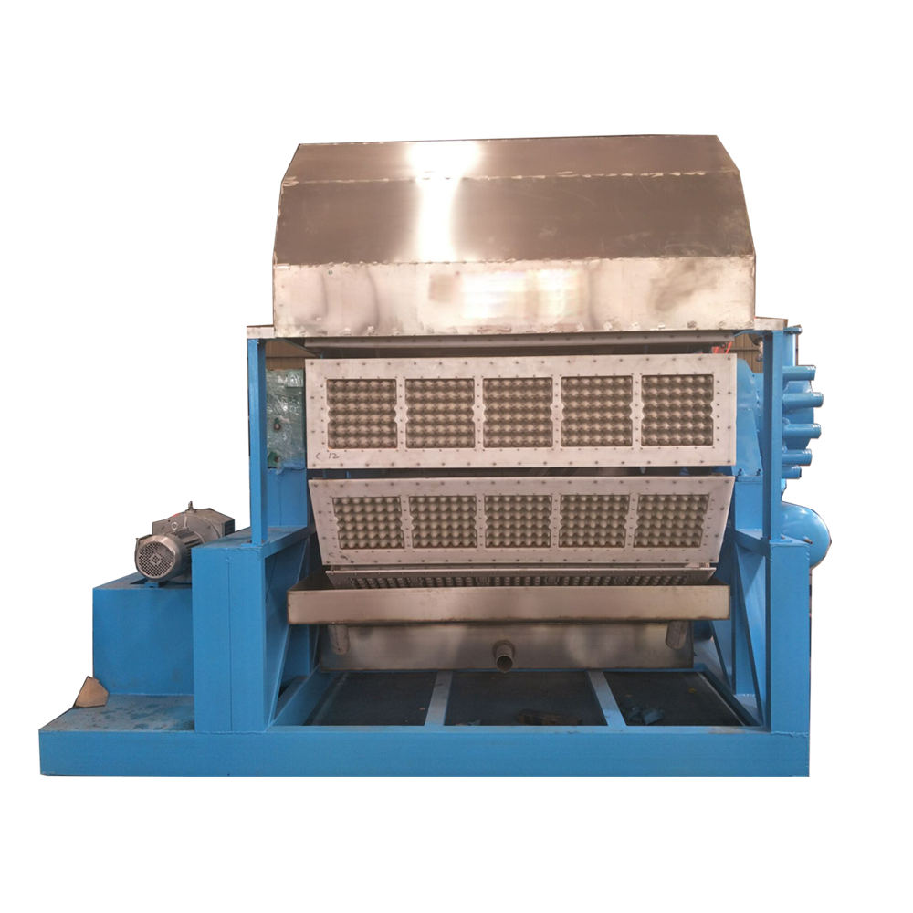 paper egg tray forming machine 3000-6000pcs/h Fully Automatic Pulp Egg Carton Box Tray Making Machine