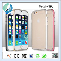 Hot new products for 2016 electronics metal and tpu case