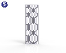 Graceful privacy stainless steel screen customized partition room divider