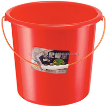 19L no lid plastic small water bucket