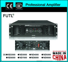 ND series professional amplifier in professional audio systems