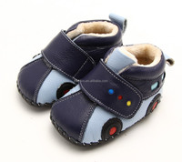 100% Authentic leather baby Boys boots PB-1123BL