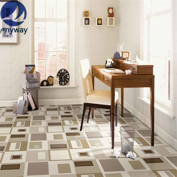 House&Commercial Use professional basketball sports flooring/wooden pattern pvc flooring Marble Like